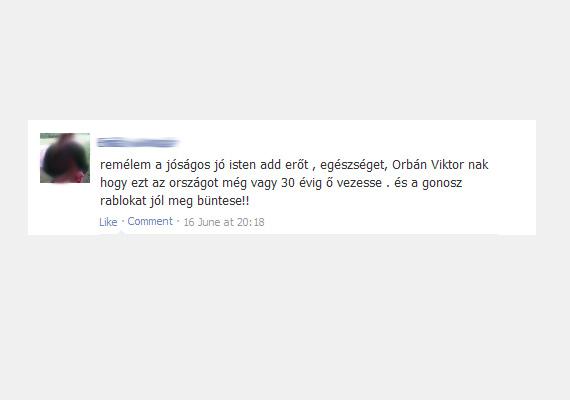 Nem tudni, hogy Orbán Viktor meddig lesz még kormányfő, de a hasonló, szívhez szóló üzenetek igen gyakoriak az oldalon.