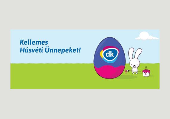 Gyurcsány Ferenc sem tette közszemlére a családi ünneplést, mindössze Facebook-oldala borítóképét cserélte le egy DK-s nyuszira.