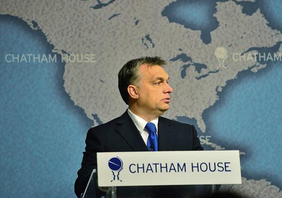 A magyar miniszterelnök, Orbán Viktor beszédet tartott a londoni Chatham House-ban, ahol többek között arról is beszélt, hogy el kell fogadnunk az Európai Unión belüli országok sokféleségét.