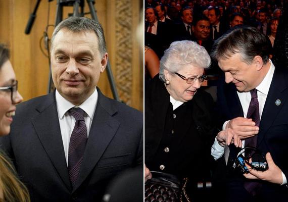 Az ünnepi padlizsánszínű, csíkos nyakkendő. Az alkalmak pedig: Leslie Mandoki születésnapi köszöntése és a FIFA-gála Zürichben.