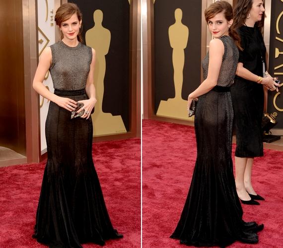 Emma Watson haja ismét hosszú! A 23 éves színésznő egy Vera Wang estélyiben tündökölt a gálán.