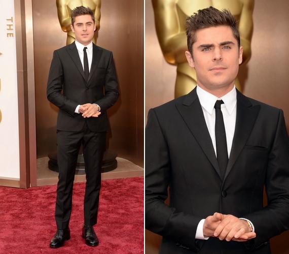 Zac Efron jobban néz ki, mint valaha! A 26 éves színész úgy feszített Calvin Klein öltönyében, hogy hihetetlenné tettea fél évvel ezelőtt történteket.