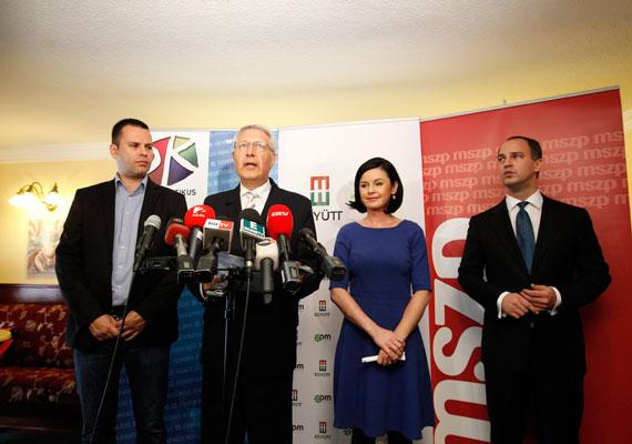 Csütörtökön megállapodott az MSZP, az Együtt-PM és a Demokratikus Koalíció az októberi önkormányzati választáson való budapesti indulásuk mikéntjéről. Pénteken a három ellenzéki párt bemutatta közös főpolgármester-jelöltjét is, aki Falus Ferenc lesz. Falus korábban országos tiszti főorvos volt és mindhárom említett párttal jó kapcsolatot ápol. A pártok megegyezése nem volt zökkenőmentes, ugyanis több kerületben is sokáig húzódott az alkudozás a jelöltek személyéről.