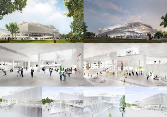 Két nyertes pályatervet hirdettek ki a Nemzeti Galéria-Ludwig Múzeum Városligetbe tervezett új épületével kapcsolatban. A két győztes irodának kell majd egyeztetnie arról, hogyan is nézzen ki pontosan a Petőfi Csarnok helyére tervezett épület. Az építkezést 2016-ban kezdhetik meg, és a tervek szerint két éven belül el is készül.
