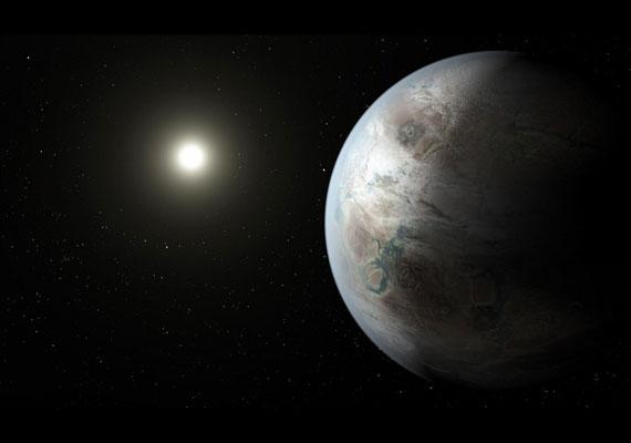 A NASA Kepler-missziója a héten jelentette be, hogy a Földhöz hasonló bolygót talált 1400 fényév távolságra tőlünk. A bolygó kicsit nagyobb a Földnél, de egy Naphoz hasonló csillagtól olyan távol van, hogy elképzelhető, van folyékony halmazállapotú víz a felszínén. Úgy tűnik, hogy sziklabolygó, tehát nem gázképződmény. Bár nem tudni, tényleg van-e élet a felszínén, minden feltétel adott ehhez. Még sohasem találtak olyan bolygót, ami ennyire hasonlítana a Földhöz.