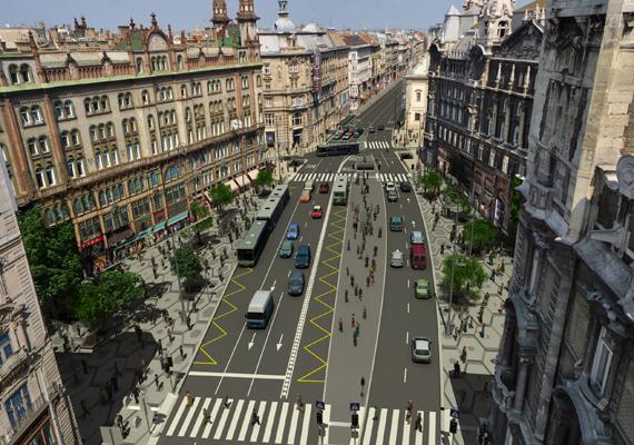 Péntektől több, a Ferenciek tere körül lévő utca forgalma is megváltozik a felújítási munkálatok miatt, valamint a 2-es metró teljes hosszában pótlóbuszok szállítják az utasokat egész hétvégén.