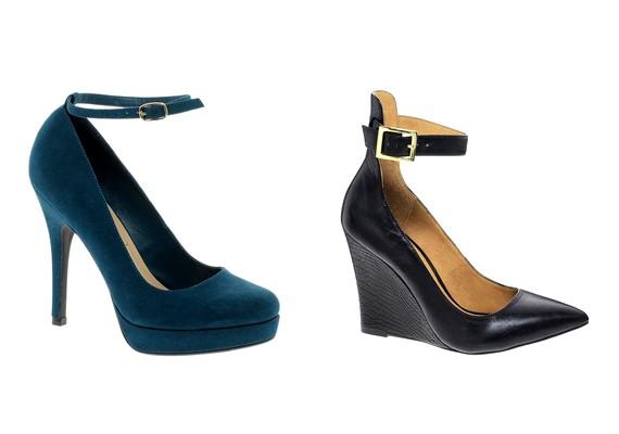 A magassarkú és az éktalpú cipők továbbra is hódítanak, idén a bokapántos fazon a legmenőbb.