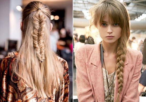 Akár halszálka, akár hagyományos, a fonat nem akar kimenni a divatból. A frizura nagy előnye, hogy remekül variálható, ide kattintva számos ötletet és tippet kaphatsz.