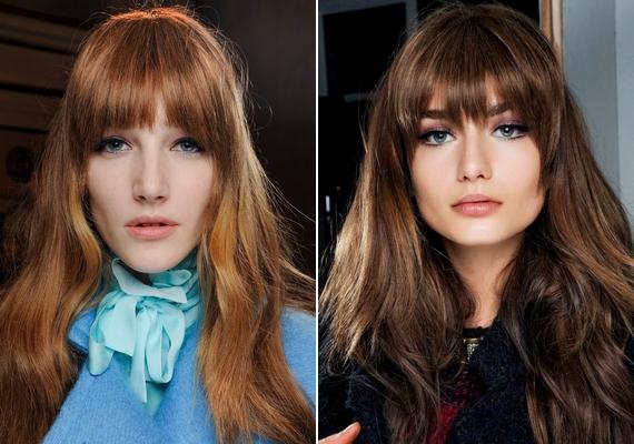 A laza, kiengedett hosszú vagy félhosszú haj nyerő választás, különösen, ha frufrud is van. Már nem kell aggódnod egy-két rendezetlen hullám miatt, mert pont ez a divat.