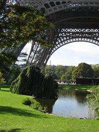 Az Eiffel-torony lába
