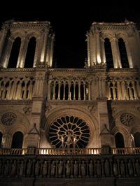 A Notre Dame éjszaka