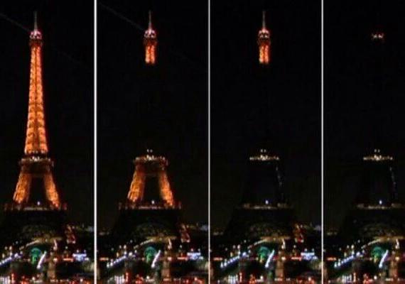 Így sötétült el az Eiffel-torony a terrortámadás éjszakáján. Francois Hollande francia elnök egész Franciaország területére rendkívüli állapotot hirdetett, és bejelentette a határok lezárását.