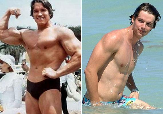Az ifjú Arnold, és Partick ma: a hasonlóságot nem lehet vitatni.