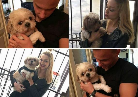 Anna elárulta a rajongóknak, hogy minden idejüket együtt töltik, és Bence a lány kutyáját, Marcit is imádja.