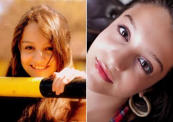 Már most látszik, hogy néhány éven belül gyönyörű nő lesz belőle.
