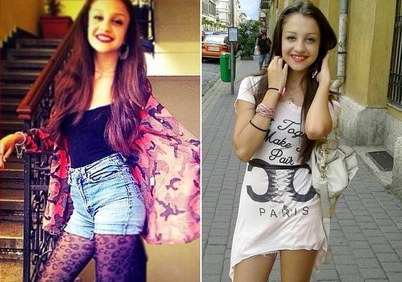 Bár az énekesnő még csak 15 éves, egyre merészebben öltözködik. Nyáron a kommentelők megjegyzéseket is tettek a stílusára, de a hozzászólások ma már nem érhetők el.