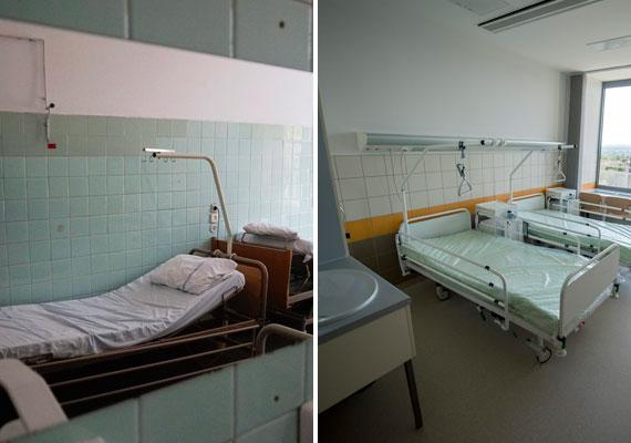 Vegyünk két embert, akik ugyanúgy fizetik a tb-t, ám egyikük, ha szüksége van rá, a bal oldali szobába fekszik be, míg másikuk a jobb oldaliba.