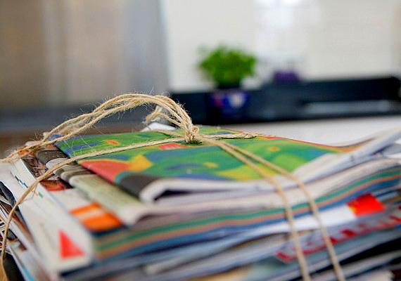 Fontos, hogy olvass, de ne halmozz fel minden hónapban öt-tíz olyan magazint, amibe éppen csak belelapozol.