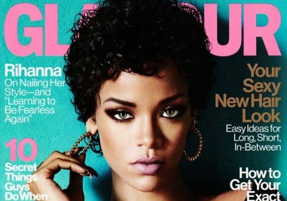 Épphogy, mégis észrevehető a probléma Rihanna Glamour-borítójával: történetesen az, hogy az énekesnő szemei nem egy és ugyanazon fotóról származnak!