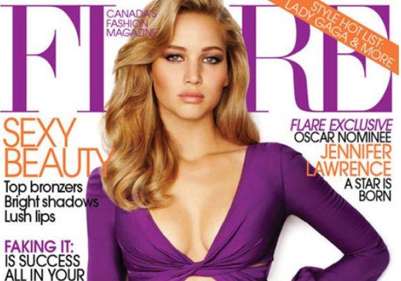 Néhány éve Jennifer Lawrence alakját teljesen átalakították a Flare címlapján: egész testét karcsúsító kezelésben részesítették.