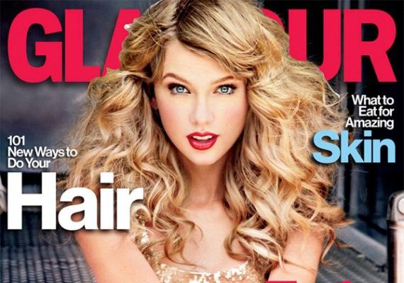 Ez a Glamour-címlap nem sikerült valami előnyösre: Taylor Swift az utómunkálat hatására inkább egy természetellenes porcelánbabának tűnik rajta, mint hús-vér embernek.