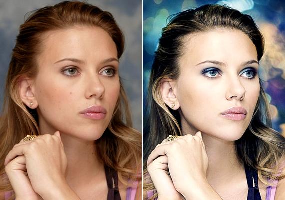Porcelánbabát csináltak a 28 éves Scarlett Johanssonból is.