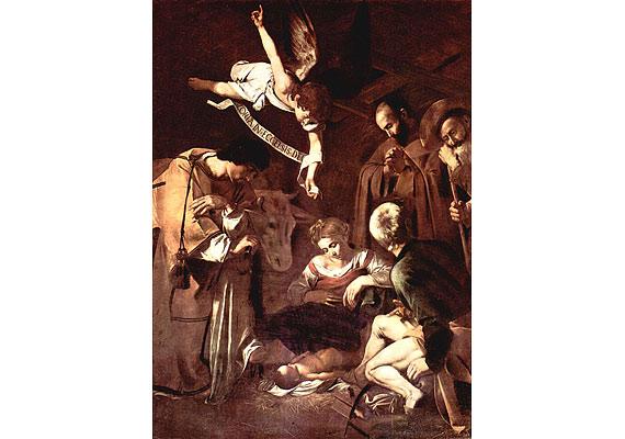 Caravaggio Jézus születése Szent Ferenccel és Szent Lőrinccel című képét 1969. október 18-án lopták el egy San Lorenzó-i templomból. Az ügy hátterében egy maffiavezér állt, aki anyjának szerezte meg a festményt, mert az asszony túl beteg volt ahhoz, hogy elmenjen a templomba megnézni azt.