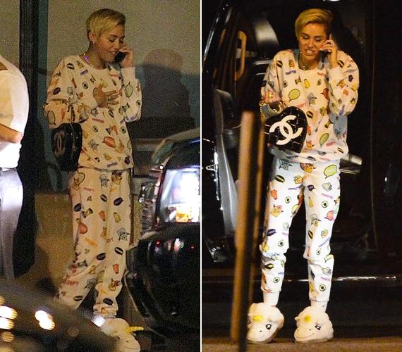 Miley Cyrus-tól az volna meglepő, ha egyszer átlagos ruhában mutatkozna. A 21 éves énekesnő már tavaly is áldozott az egyre népszerűbb viselet oltárán, kattints ide, és nézd meg, hogyan!