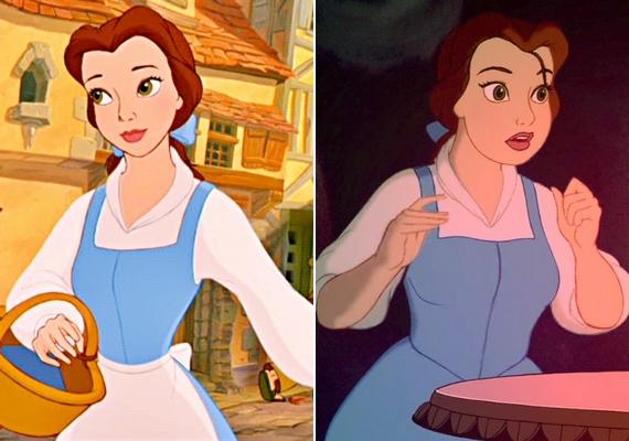 Belle telt alkattal is Szépség maradna.