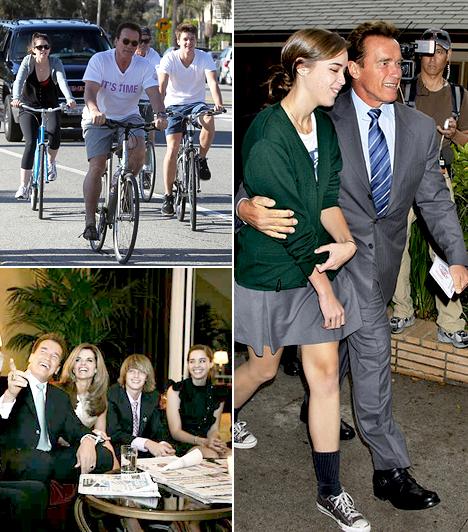 Arnold SchwarzeneggerOsztrák születésű amerikai testépítő, színész, Kalifornia állam 38. kormányzója.Felesége Maria Shriver, akivel 1986-ban házasodtak össze. Négy gyermekük született: Katherine Eunice Shriver, Christina Maria Aurelia, Patrick Arnold és Christopher Sargent.
