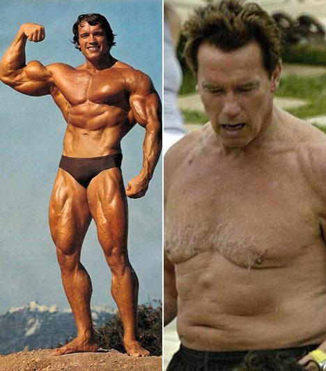 Arnold Schwarzenegger  Osztrák származású amerikai testépítő, színész, aki jelenleg az egyesült államokbeli Kalifornia állam 38. kormányzója.  Fiatalkorában testépítő eredményeivel ért el sikereket, majd a filmezés felé fordult, és hollywoodi akciófilmjeivel világhírűvé vált. Félmeztelen képe korábban bejárta a világsajtót, nem várták tőle, hogy így elengedi magát.