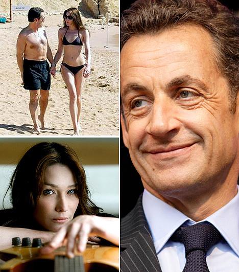 Nicolas SarkozyA magyar származású francia elnök a képen olasz feleségével sétál. Carla Bruni Sarkozy harmadik felesége.Az elnöknek előző két feleségétől három gyermeke született. Felesége, Carla modell és énekesnő, emiatt az elnöknek már adódtak problémái.