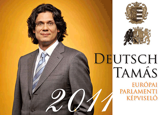 A fideszes Deutsch Tamás sok káromkodást, posztot és vicces szereplést tudhat maga mögött, ám a leghajmeresztőbb talán a 2011-es évre kiadott naptára, amiben jóságosan mosolyog egész évben a szerencsésekre.