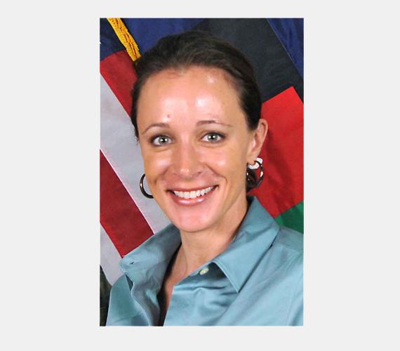 Paula Broadwell, a CIA-vezető másik szeretője.