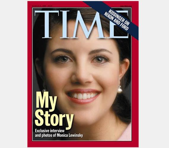 A világ leghíresebb szeretője, Monika Lewinsky, aki Bill Clintont keverte rendkívül kellemetlen helyzetbe orális fixáltságával.