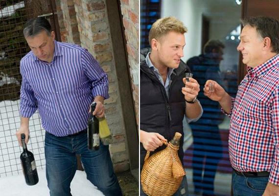 Orbán Viktor a képei alapján szeret, és tud is mulatni. A Facebook-oldalán több, ezt bizonyító fotóra bukkantunk, ezek közül ragadtunk ki kettőt. A bal oldali kép a 2013-as húsvétkor, a jobb oldali pedig, amin a vejével látható, ugyanazon év karácsonyakor készült.