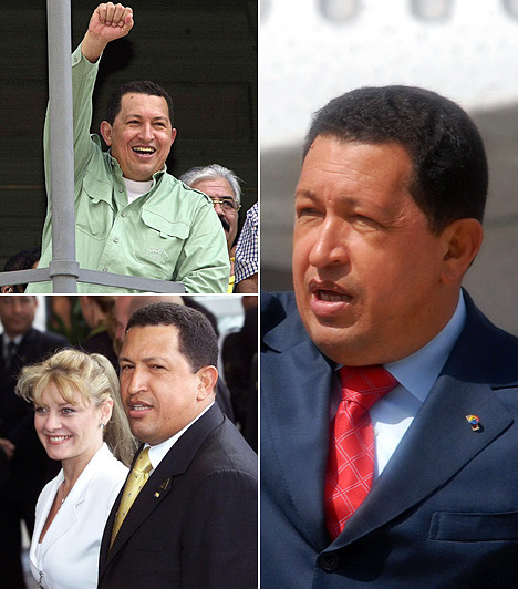 Hugo Chávez                         A venezuelai diktátor is többször nősült, második feleségével 2002-ben romlott meg a kapcsolata. Az újságírót, Maria Isabel Rodríguezt 1997-ben vette feleségül, egy gyermekük született.                         A nő a válás után kipakolt férjéről mindent a sajtóbak, majd politizálni kezdett.
