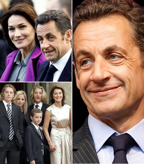Nicolas SarkozyA magyar származású francia elnök 2007-ben vált el feleségétől, Ceciliától. Kapcsolatuk viharos volt, több szakítással övezve.Sarkozy ezután az olasz származású modellt, Carla Brunit vette el.