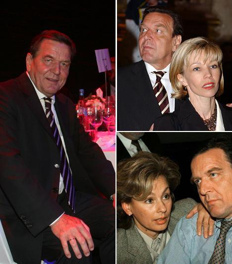 Gerhardt Schröder1997-ben az akkor még alsó-szászországi miniszterelnök Gerhard Schröder botrányos körülmények között vált el első feleségétől, Hillu-tól. Felesége kirakta a házukból, amikor megtudta, hogy szeretője van. 1984 óta éltek együtt.Schröder ezután vette el Doris Köpf-t.