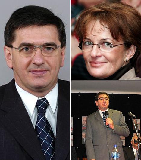 Veres JánosA volt pénzügyminiszter 2010-ben vált el, csendben. Válására vagyonnyilatkozatából derült fény.Veres 28 évig élt feleségével, válásával 150 millió forintot vesztett.