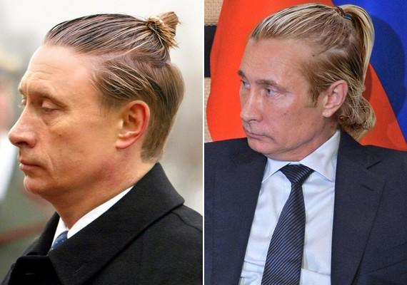Ezzel a melírozott frizkóval tagadhatatlan Putyin David Beckham-es beütése.