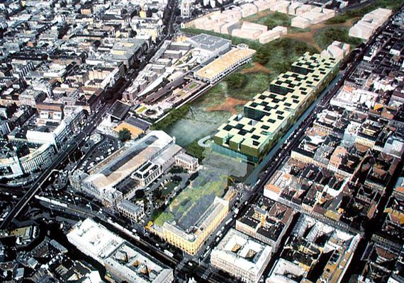 2006-ban határozta el a Gyurcsány-kormány, hogy a Nyugati pályaudvar mögötti kies területen egy kormányzati negyedet hoz létre. Bár milliárdok mentek el a tervezgetésre, még győztest is hirdettek a tervpályázaton, a negyed tervét 2008-ban lefújták. A terület azóta üresen áll, az ott található néhány értéket is hamar széthordták. Nem lett kormányzati negyed, csak egy üres, pusztuló folt a főváros belterületén, 9 milliárd forint közpénzből.
