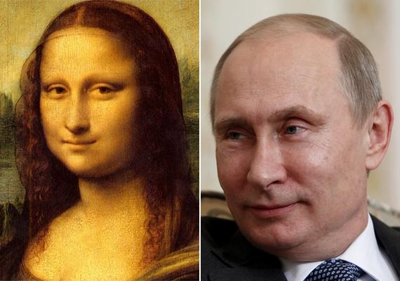 A történet legviccesebb szelete az, hogy talán már Leonardo da Vinci is ismerte Putyint, és róla mintázta meg a Mona Lisát - ami egyébként még XII. Lajos életében készült.