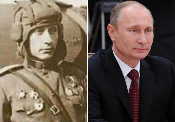 Később egy 1941-es fotó is előkerült egy másik katonáról, aki szintén a megszólalásig hasonlít az orosz elnökre, és ekkor már az időutazós elmélet is felütötte a fejét.