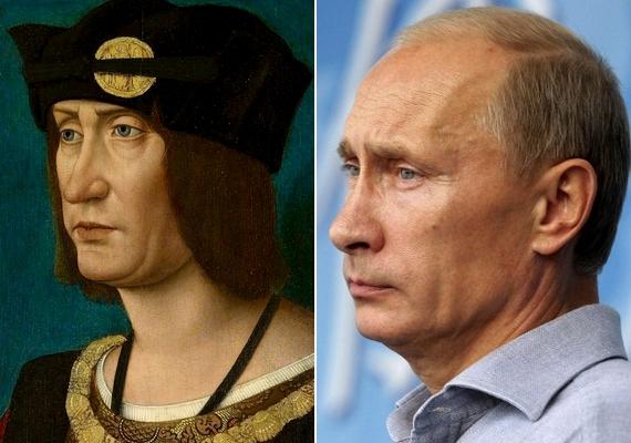 Putyin már nem valami fiatal: azok, akik időutazónak gondolják, már a 15. században született XII. Lajos királlyal is azonosították.