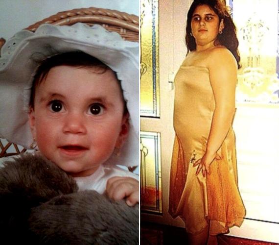 Ilyen volt Gigi babaként és kislányként.