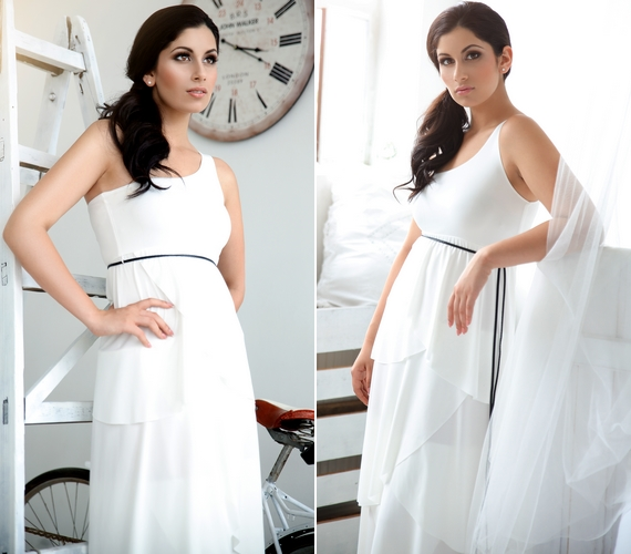 A hófehér ruha is jól illik hozzá, kattints idea fotósorozat megtekintéséhez!