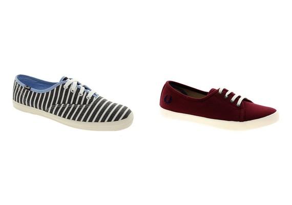 Szerencsés vagy, ha egy a cipőméretetek is: rengeteg lábbeli divatos most, ami egyszer már trendi volt, különösen a vászoncipők.
