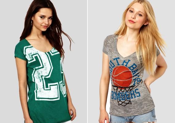 A régi laza, színes mintás vagy feliratos pólók között biztosan találsz majd olyat, ami most is divatos.