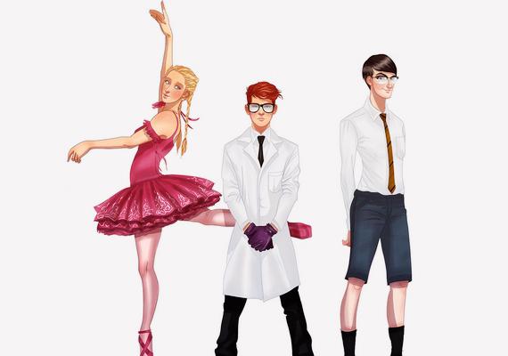 Dexter laboratóriuma még mindig üzemel: Dee Dee ugyanolyan, mint volt, Dexter előnyére változott, és Mandark arca is csak egy kicsit gonosz.